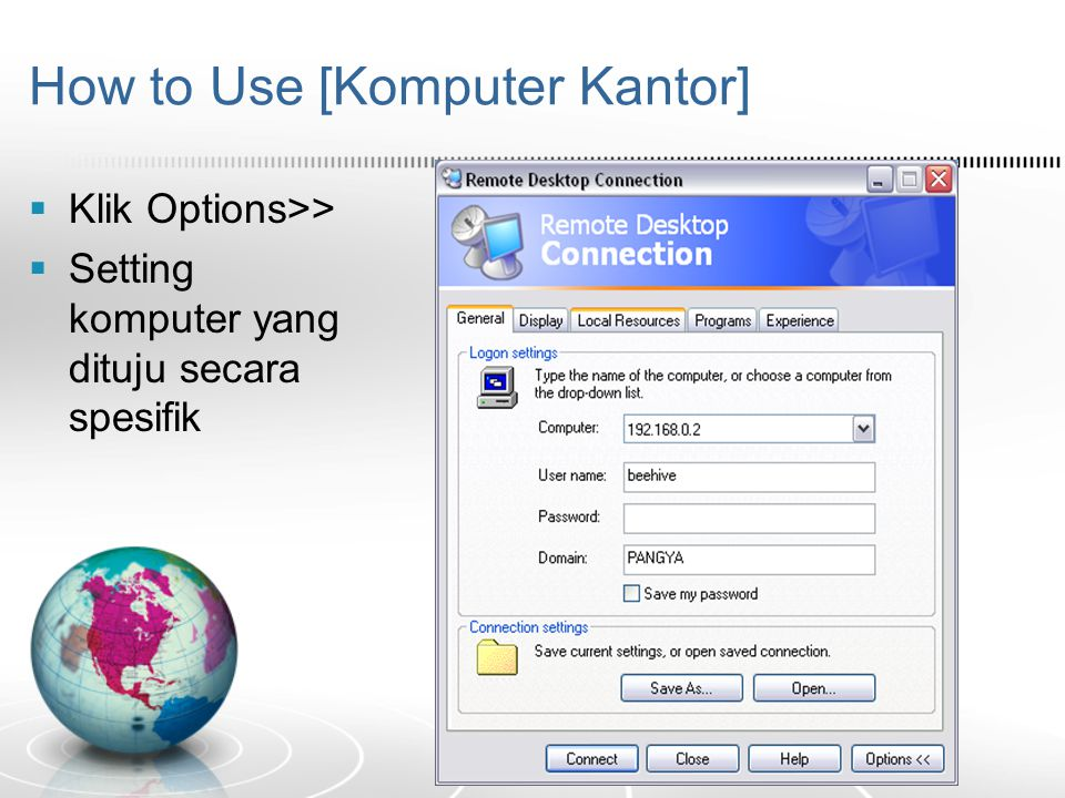 How to Use [Komputer Kantor]